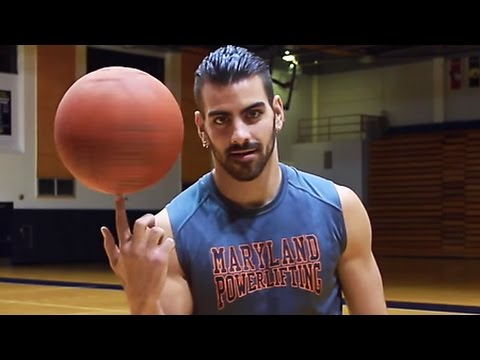 PLAYING VOLLEYBALL | Nyle DiMarco