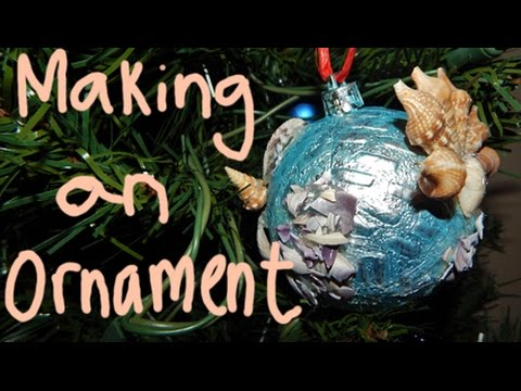 Making an Ornament! | Vlogmas Day 10