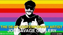 The Deaf Contemporary Artist: Jon Savage's Gallery