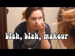 blah blah makeup