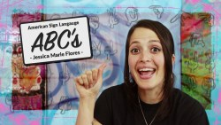 American Sign Language ABC's ❤ Jessica Marie Flores ❤