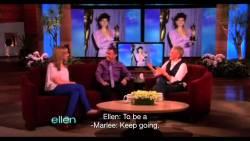 Marlee Matlin on the Ellen Show (2012)