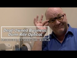 Deaf-Owned Business: Dunn Rite Optical