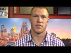 Message from Kyle Rudolph