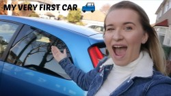 I PICKED UP MY VERY FIRST CAR - DEAF DRIVER | Jazzy Vlogs