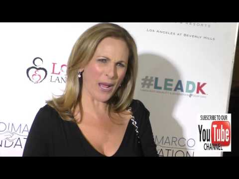 Marlee Matlin at the Nyle DiMarco Foundation Kicks Off Love And Language Campaign at the Sofitel Hot