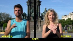American Sign Language (ASL) & Austrian Sign Language (ÖGS) in 33 Sign Words!