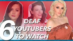 Deaf YouTubers You NEED To Watch! (American Sign Language) | Rikki Poynter