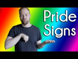 Signs for Pride Month