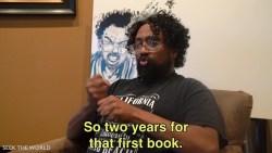 Awet Moges: Deaf Graphic Novelist Wrote a Comic Book Art