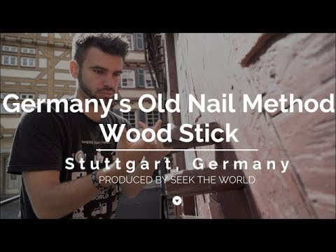 Germany's Traditional Wood Construction – Wood Nails & Timber Framing