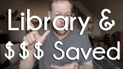 The library saved me so much $$$ in 2019 | BookTube