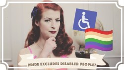 Does Pride Exclude Disabled People? [CC]