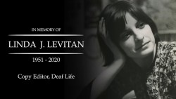 In Memory of Linda J. Levitan