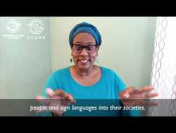 International Week of the Deaf | September 24, 2020