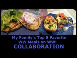 Collab My Familys Top 5 Favorite Meals on WW Blue Plan