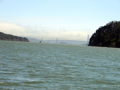The fogs of the Golden Gate Bridge