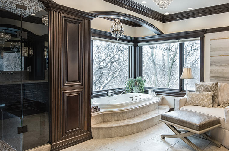 The Master En Suite Becomes a Lavish Retreat Full of
