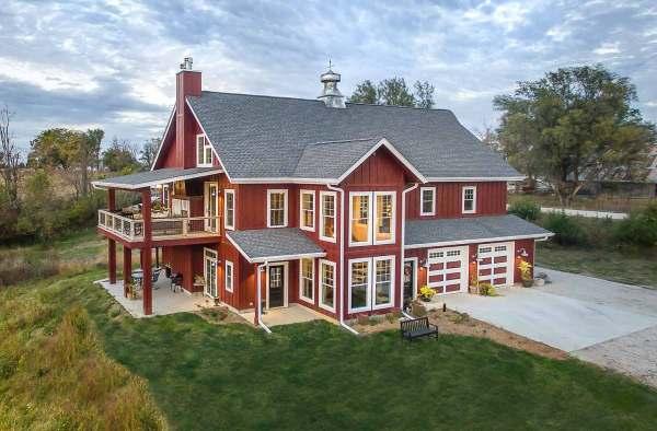Lifetime Love Of Barns Inspires Custom Home