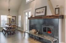 Barn Wood Fireplace Mantels