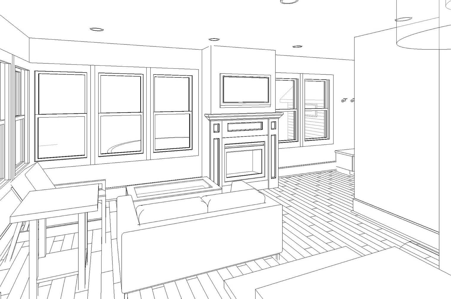 Craftsman House Bedroom Remodel, Kitchen Expansion
