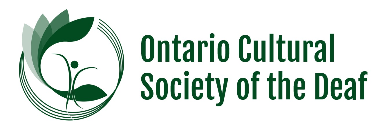 Ontario Cultural Society of the Deaf logo