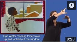 ASL Storytelling - Snowy Day Image