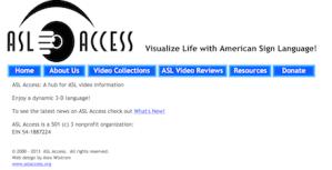 ASL Access Image