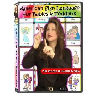 American Sign Language For Babies & Toddlers Image