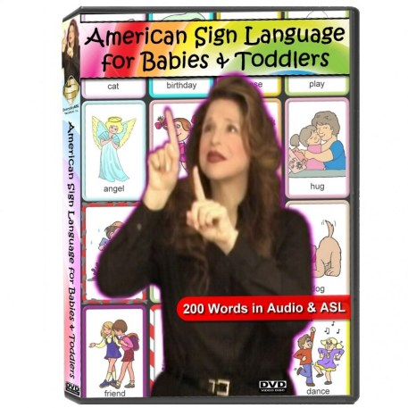 American Sign Language for Babies & Toddlers DVD Cover