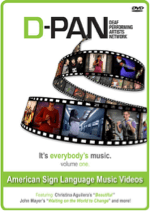 D-PAN (Deaf Professional Arts Network) – ASL Music Videos Vol. 1 Image