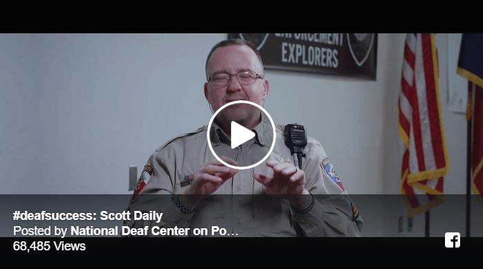 #deafsuccess: Scott Daily Image