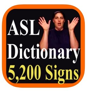 ASL Dictionary App Icon
