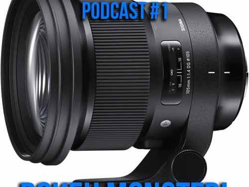 The Silentwisher Photography Podcast #1 Sigma 105 1.4 Bokeh Monster