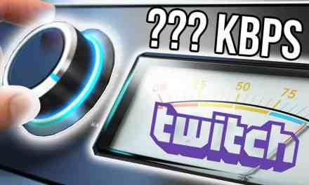 How to Choose a Bitrate for Twitch Streaming
