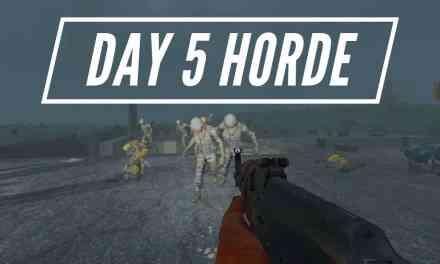 Crazy Day 5 Soldier Zombie Horde – 7 Days To Die