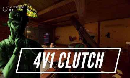 Shady Caveira 1v4 Clutch – Rainbow Six Siege Highlight
