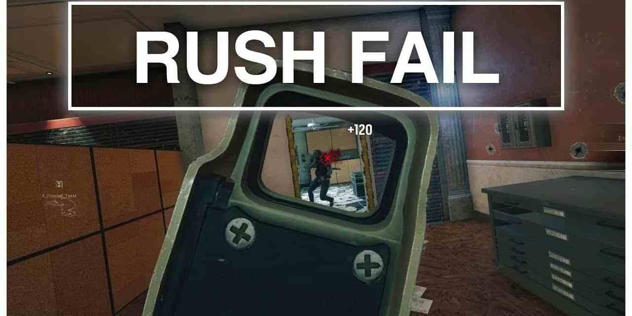 Enemy Team Rush Fail   Rainbow Six Siege