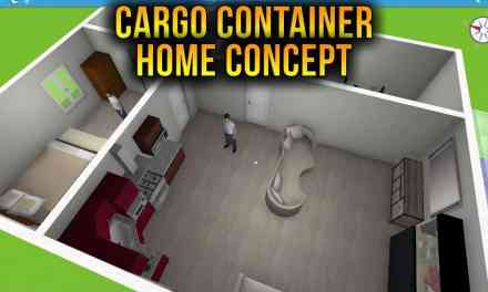 1113 Sqft Cargo Container House | Home Design 3D