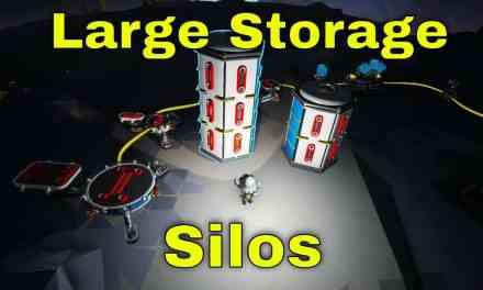 Large Storage Silo A & B   Astroneer Lunar Update