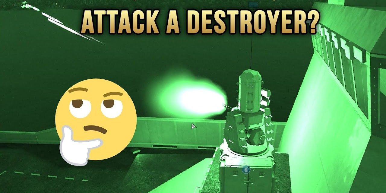 Attack A Destroyer? | Arma 3 Highlights