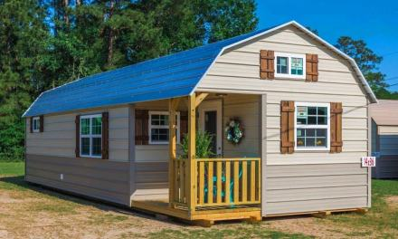 Incredibly Beautiful SHED Cabin Has It All for Sale