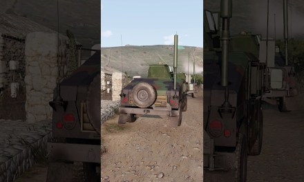 #Shorts US Humvees Engage Troops On Hill – Arma 3