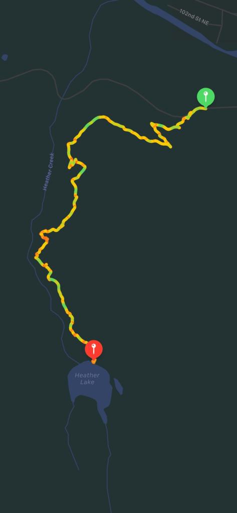 Heather Lake Trail