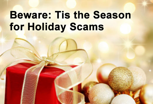 Beware Cyber Security Grinches & Holiday Scams