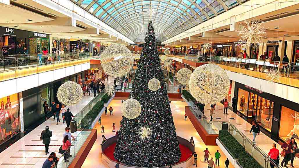 12 Days to a Safe Christmas: Day 2 – It's Beginning to Look a Lot Like Christmas- at the Mall!