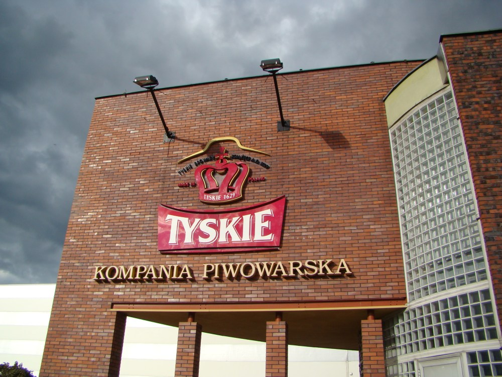 Tyskie brewery. 6 PLN: glass of beer + souvenir beer glass + 2 hours guided tour through facotry (3/6)