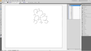 Design a Flower Cutout in Adobe Illustrator to Use With Your Silhouette Machine Step3