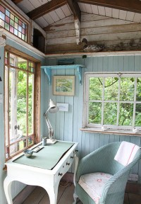 cottage office | Silhouette