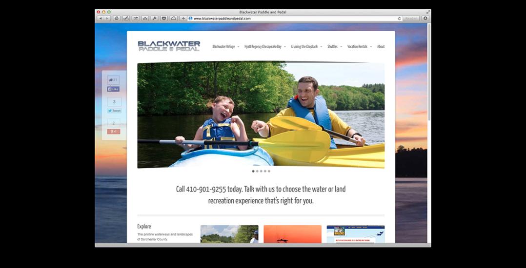 Blackwater Paddle & Pedal